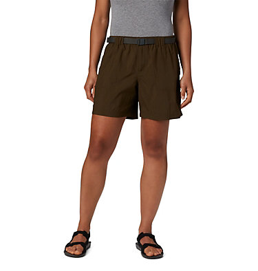 Women's Sandy River™ Cargo Shorts Sandy River™ Cargo Short | 319 | L, Olive Green, front