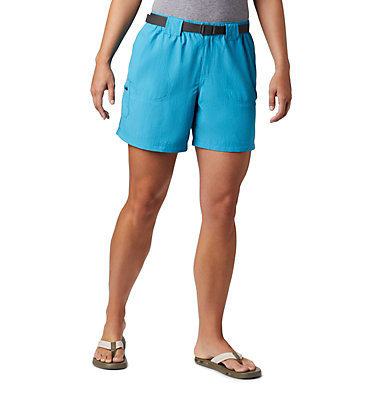 Women's Sandy River™ Cargo Shorts Sandy River™ Cargo Short | 319 | M, Clear Water, front