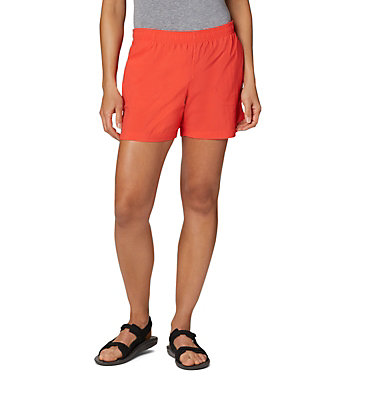 Women's Sandy River™ Shorts Sandy River™ Short | 451 | L, Bright Poppy, front