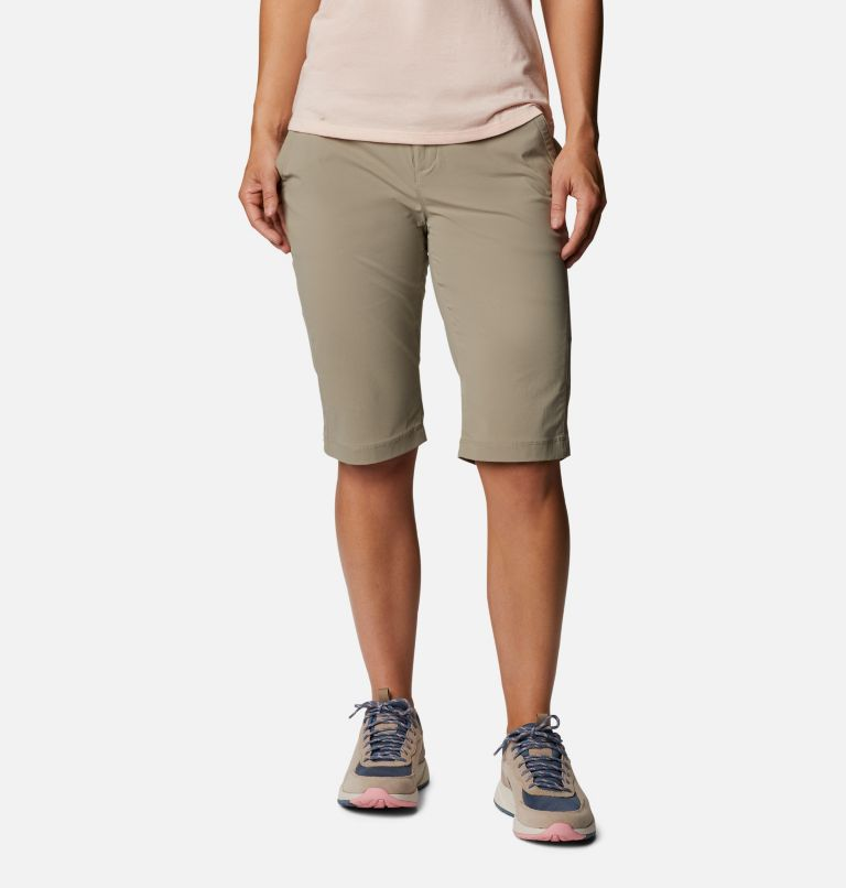 Anytime Outdoor™ Long Short   221   4 Women's Anytime Outdoor™ Long Shorts, Tusk, front