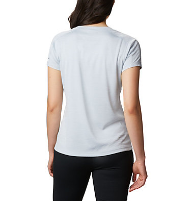 T-shirt Zero Rules™ Femme Zero Rules™ Short Sleeve Shirt | 487 | XS, Cirrus Grey Heather, back