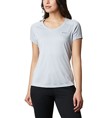 Camiseta manga corta Zero Rules™ para mujer Zero Rules™ Short Sleeve Shirt | 487 | XS, Cirrus Grey Heather, front