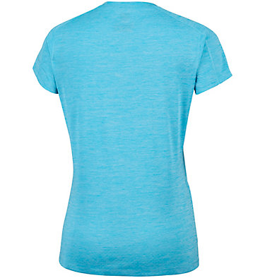 T-shirt Zero Rules™ Femme Zero Rules™ Short Sleeve Shirt | 487 | XS, Atoll Heather, back