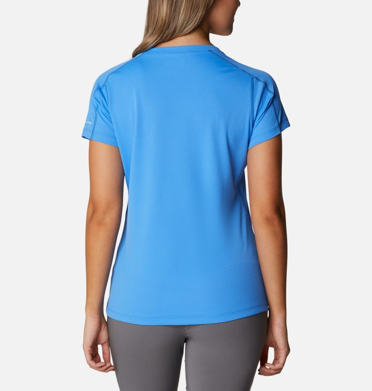 Zero Rules™ Short Sleeve Shirt | 485 | XS Women's Zero Rules™ T-Shirt, Harbor Blue, back