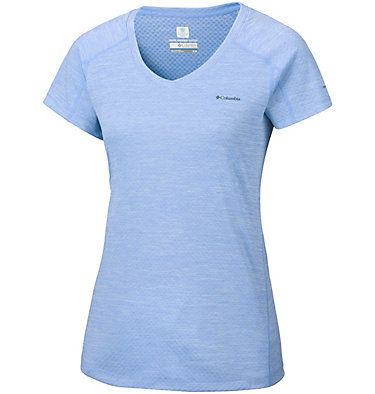 T-shirt Zero Rules™ Femme Zero Rules™ Short Sleeve Shirt | 487 | XS, Sail Heather, front