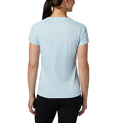 Women's Zero Rules™ T-Shirt Zero Rules™ Short Sleeve Shirt | 487 | XS, Spring Blue Heather, back