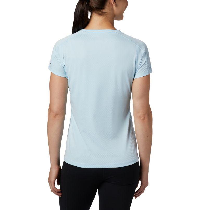 Zero Rules™ Short Sleeve Shirt   490   XS Women's Zero Rules™ Short Sleeve Shirt, Spring Blue Heather, back