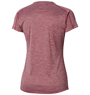 T-shirt Zero Rules™ Femme Zero Rules™ Short Sleeve Shirt | 487 | XS, Wine Berry Heather, back