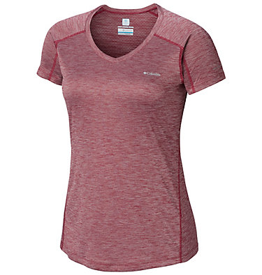 T-shirt Zero Rules™ Femme Zero Rules™ Short Sleeve Shirt | 487 | XS, Wine Berry Heather, front