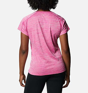 T-shirt Zero Rules™ Femme Zero Rules™ Short Sleeve Shirt | 487 | XS, Haute Pink Heather, back