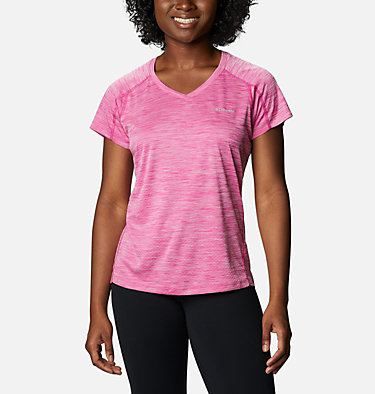 Women's Zero Rules™ T-Shirt Zero Rules™ Short Sleeve Shirt | 487 | XS, Haute Pink Heather, front