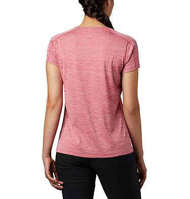 T-shirt Zero Rules™ Femme Zero Rules™ Short Sleeve Shirt | 487 | XS, Rouge Pink Heather, back