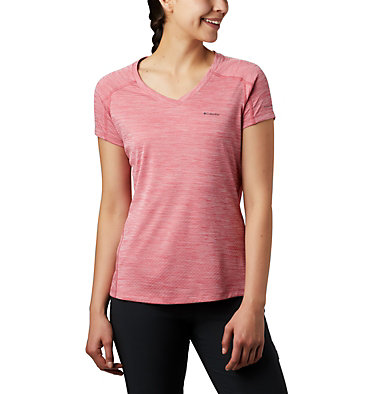 Women's Zero Rules™ T-Shirt Zero Rules™ Short Sleeve Shirt | 487 | XS, Rouge Pink Heather, front