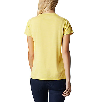 T-shirt Zero Rules™ Femme Zero Rules™ Short Sleeve Shirt | 487 | XS, Buttercup Heather, back