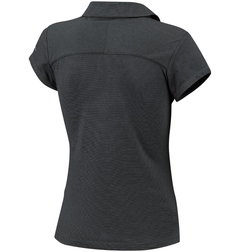 Shadow Time™ Polo | 011 | L Polo Shadow Time™ da donna, Black, Grill, back