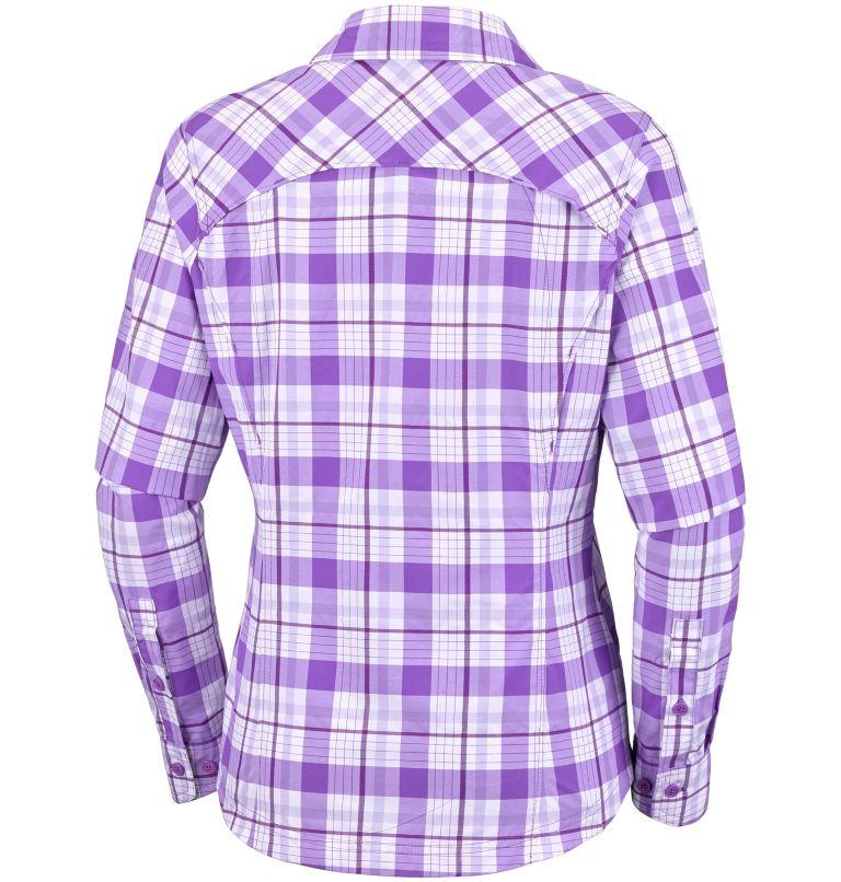 Silver Ridge™ Langarm-Hemd mit Karomuster für Damen Silver Ridge™ Langarm-Hemd mit Karomuster für Damen, back