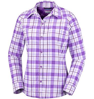 Women's Silver Ridge™ Plaid Long Sleeve Shirt , front