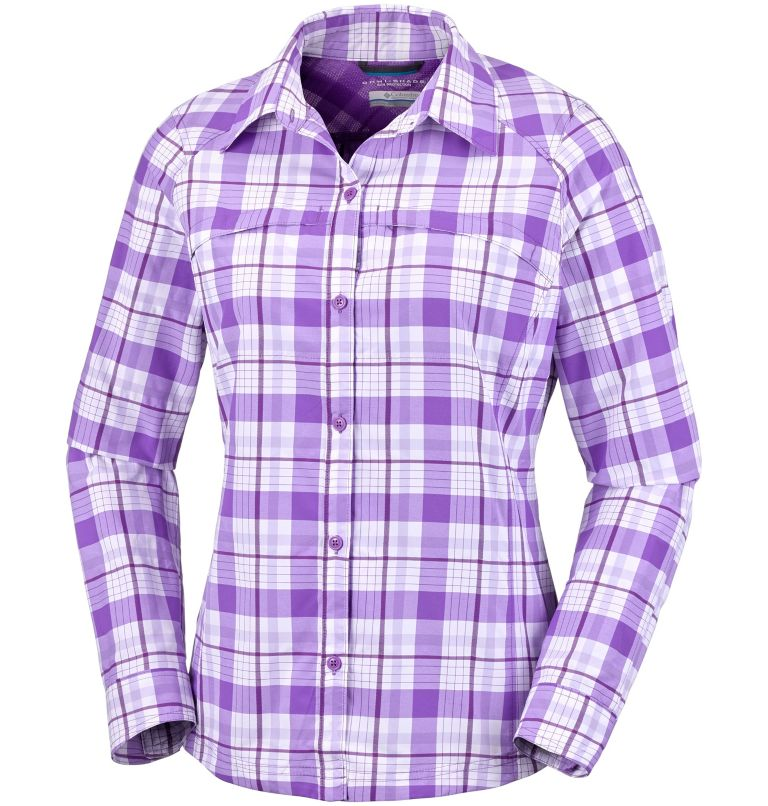 Silver Ridge™ Langarm-Hemd mit Karomuster für Damen Silver Ridge™ Langarm-Hemd mit Karomuster für Damen, front