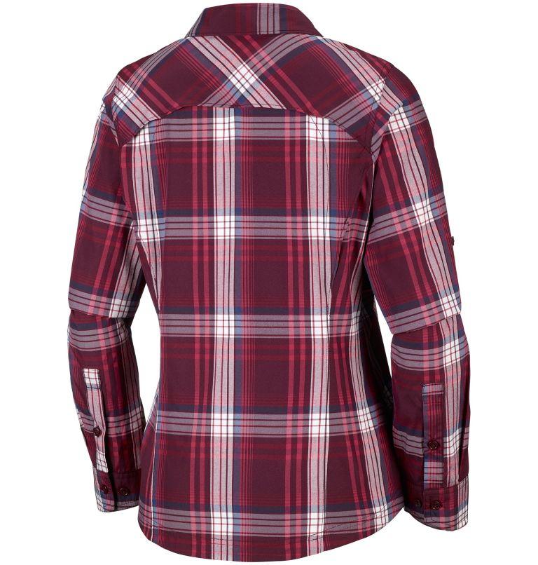 Women's Silver Ridge™ Plaid Long Sleeve Shirt Women's Silver Ridge™ Plaid Long Sleeve Shirt, back