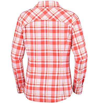 Women's Silver Ridge™ Plaid Long Sleeve Shirt , back