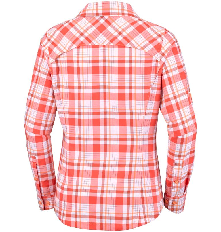 Women's Silver Ridge™ Plaid Long Sleeve Shirt Women's Silver Ridge™ Plaid Long Sleeve Shirt, back