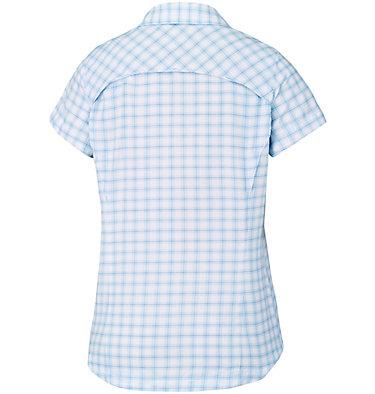 Women's Silver Ridge™ Multi Plaid Short Sleeve Shirt Silver Ridge™ Multi Plaid S/S  | 842 | L, Sail Rip Stop Plaid, back