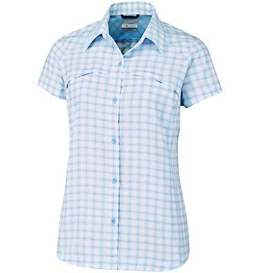 Women's Silver Ridge™ Multi Plaid Short Sleeve Shirt Silver Ridge™ Multi Plaid S/S  | 842 | L, Sail Rip Stop Plaid, front