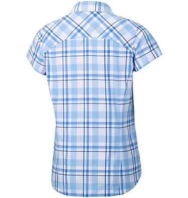 Women's Silver Ridge™ Multi Plaid Short Sleeve Shirt Silver Ridge™ Multi Plaid S/S  | 842 | L, Sail Plaid, back