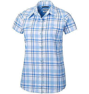 Women's Silver Ridge™ Multi Plaid Short Sleeve Shirt Silver Ridge™ Multi Plaid S/S  | 842 | L, Sail Plaid, front