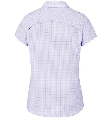 Women's Silver Ridge™ Multi Plaid Short Sleeve Shirt Silver Ridge™ Multi Plaid S/S  | 842 | L, Soft Violet Rip Stop Plaid, back