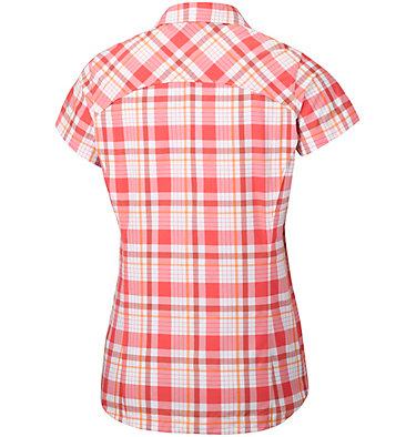 Women's Silver Ridge™ Multi Plaid Short Sleeve Shirt , back