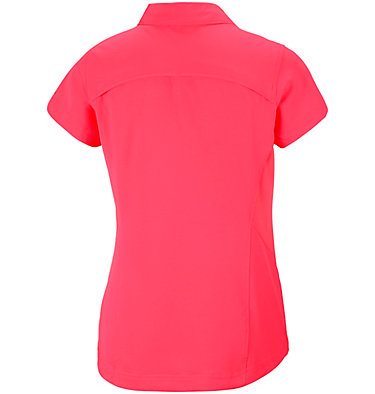 Women's Silver Ridge™ Short Sleeve Shirt Silver Ridge™ Short Sleeve Shi | 404 | XS, Red Camellia, back