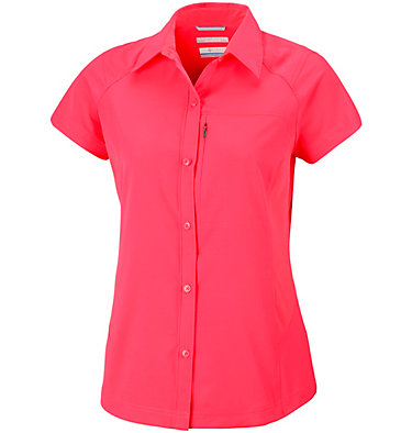 Women's Silver Ridge™ Short Sleeve Shirt Silver Ridge™ Short Sleeve Shi | 404 | XS, Red Camellia, front