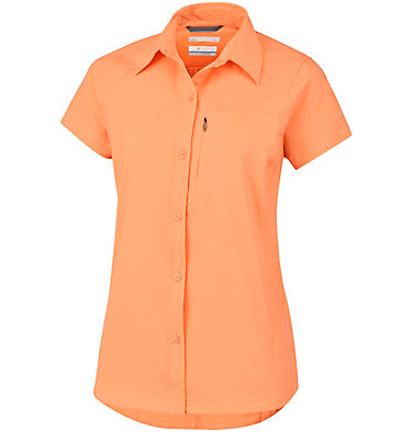Women's Silver Ridge™ Short Sleeve Shirt Silver Ridge™ Short Sleeve Shi | 404 | XS, Summer Orange, front