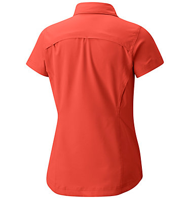 Women's Silver Ridge™ Short Sleeve Shirt Silver Ridge™ Short Sleeve Shi | 404 | XS, Zing, back
