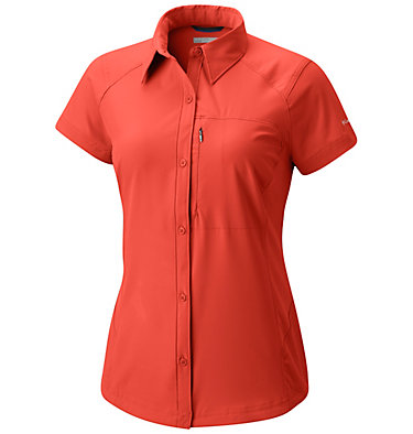 Women's Silver Ridge™ Short Sleeve Shirt Silver Ridge™ Short Sleeve Shi | 404 | XS, Zing, front