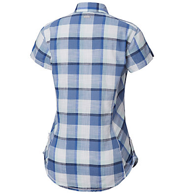 Camicia a maniche corte Camp Henry™ da donna Camp Henry™ Short Sleeve Shirt | 549 | M, Blue Dusk Block Plaid, back