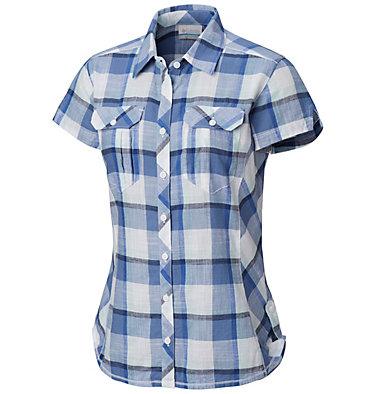 Camicia a maniche corte Camp Henry™ da donna Camp Henry™ Short Sleeve Shirt | 549 | M, Blue Dusk Block Plaid, front