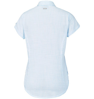 Camicia a maniche corte Camp Henry™ da donna Camp Henry™ Short Sleeve Shirt | 549 | M, Sail Stripe, back