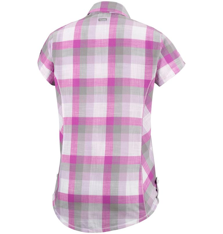 Camp Henry™ Short Sleeve Shirt | 549 | XS Chemise à manches courtes Camp Henry™ Femme, Bright Lavender Block Stripe, back