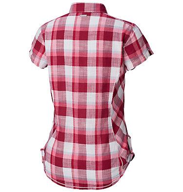 Camicia a maniche corte Camp Henry™ da donna Camp Henry™ Short Sleeve Shirt | 549 | M, Wine Berry Block Plaid, back