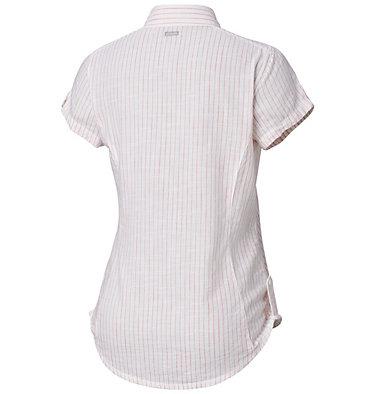 Camicia a maniche corte Camp Henry™ da donna Camp Henry™ Short Sleeve Shirt | 549 | M, Red Coral Stripe, back
