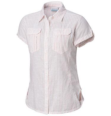 Camicia a maniche corte Camp Henry™ da donna Camp Henry™ Short Sleeve Shirt | 549 | M, Red Coral Stripe, front