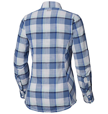 Camp Henry™ Langarm-Hemd für Damen Camp Henry™ Long Sleeve Shirt | 634 | S, Blue Dusk Block Plaid, back