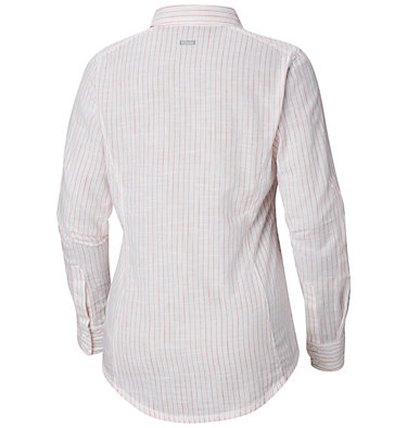 Camp Henry™ Langarm-Hemd für Damen Camp Henry™ Long Sleeve Shirt | 634 | S, Red Coral Stripe, back