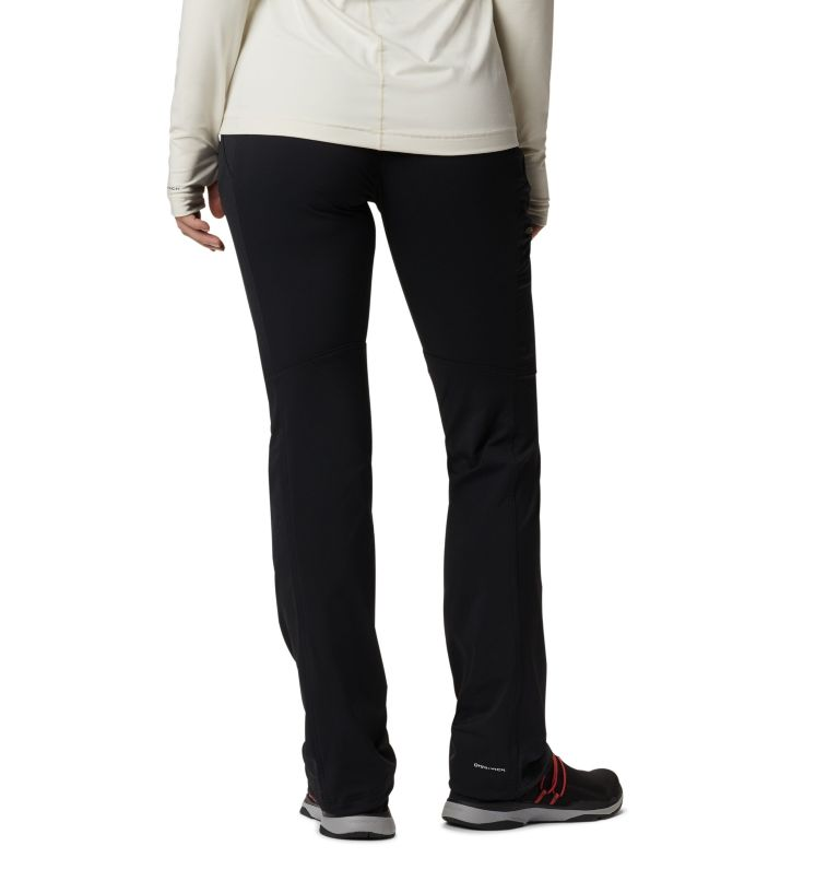 Passo Alto™ Pant | 011 | 2 Pantaloni a gamba diritta Back Up Passo Alto™ da donna, Black, back