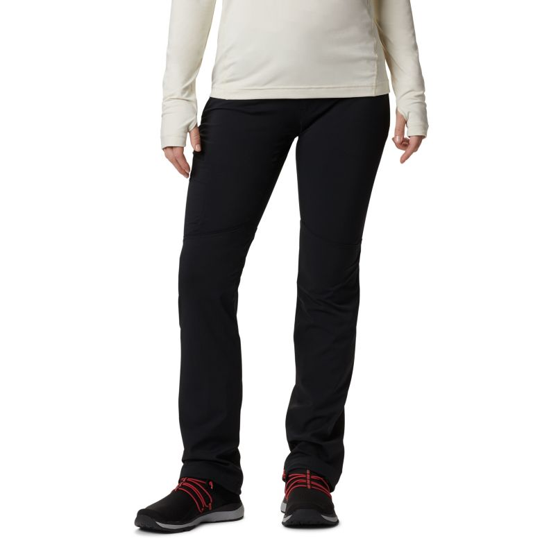 Passo Alto™ Pant | 011 | 2 Pantaloni a gamba diritta Back Up Passo Alto™ da donna, Black, front