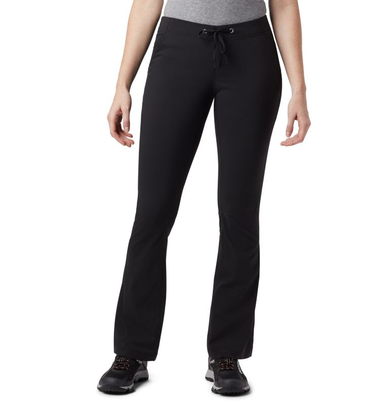 Anytime Outdoor™ Boot Cut Pant   010   8 Women's Anytime Outdoor™ Boot Cut Pants, Black, front