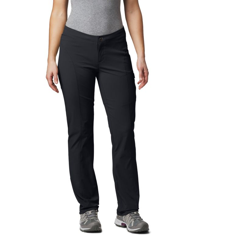 Just Right™ Straight Leg Pant | 010 | 4 Women's Just Right™ Straight Leg Pants, Black, front