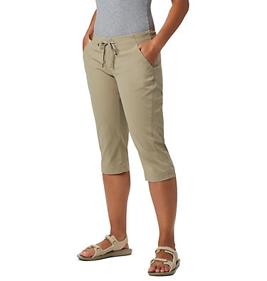 Women's Anytime Outdoor™ Capri Anytime Outdoor™ Capri | 249 | 4, Tusk, front